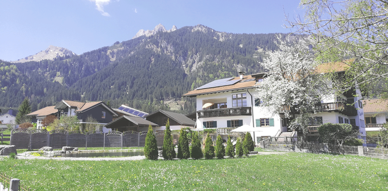 Ansicht Wänglerhof, Entspannung
