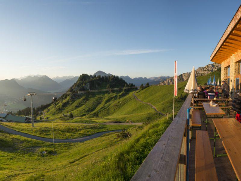 Bergstation Reutte, Hahnenkamm, Höfen